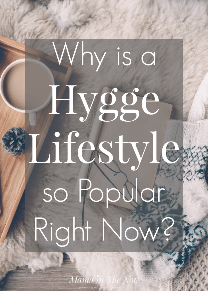 Hygge lifestyle depicted with coffee and a fluffy blanket