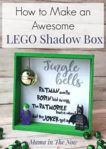 LEGO Batman Shadow Box
