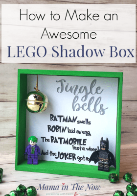 LEGO Batman Shadow Box