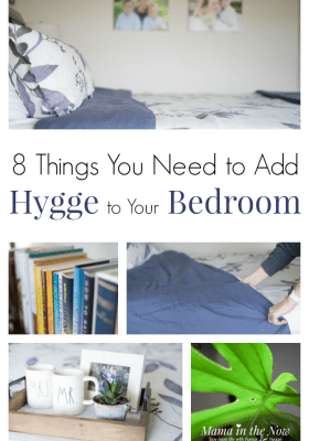 bedroom hygge