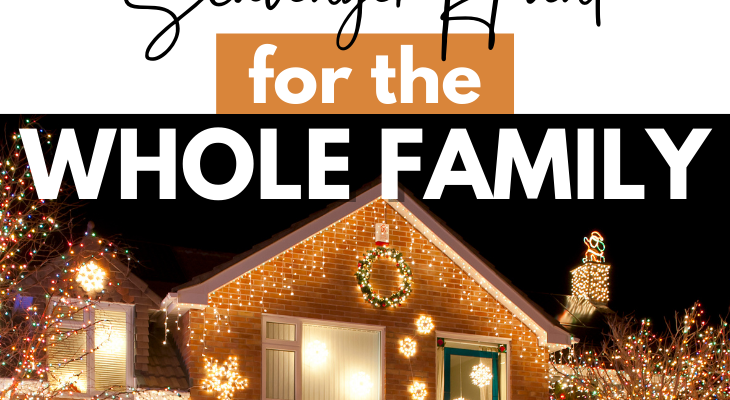 The Best Christmas Lights Scavenger Hunt for the Whole Family
