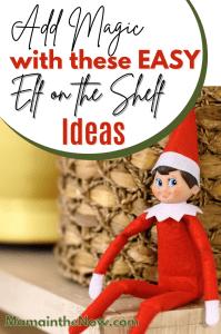 easy and magical elf on the shelf ideas