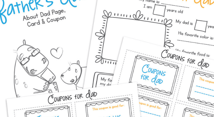 The Printable Father's Day Cards He Will Love
