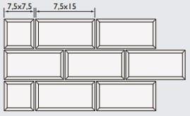 Carrelage Metro 22 Couleurs Diffusion Ceramique 7 5x15cm Des 55 M2