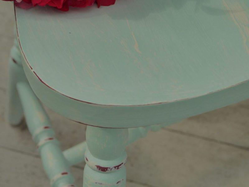 krzesła miętowe
