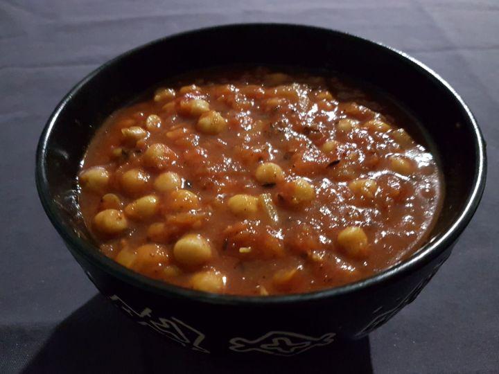Curry de pois chiches (Inde / Pakistan)