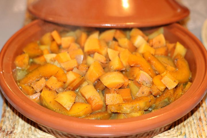 tajine de légumes d'automne au miel