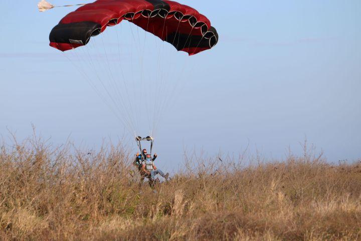 chute libre à la réunion fly974 tandem