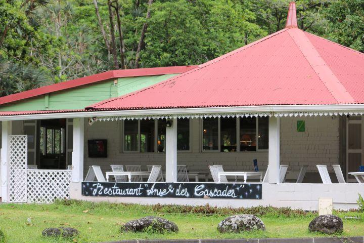 Le restaurant Anse des Cascades à Sainte Rose