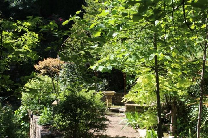 visiter Tournon sur Rhône : le jardin d'Eden