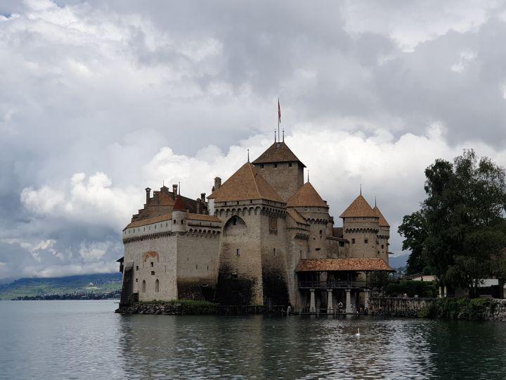 Le Château de Chillon – Canton de Vaud – Suisse