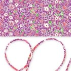 im Liberty cord Kayoko Rose x 1m - Liberty cord for your sterling silver bola necklace