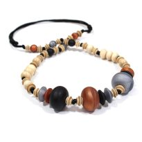 Anthropologist teething necklaces