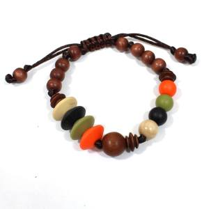 Anthropologist INDIAN SUMMER teething bracelet2 - Anthropologist silicone wood teething baby proof bracelet India
