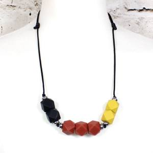 beech mustard 2018 3 - Earth Mustard GEO BEADS silicone teething necklace