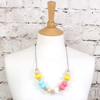 GILLY SS 2018 CANDY 2 - GILLY silicone teething necklace candy colours