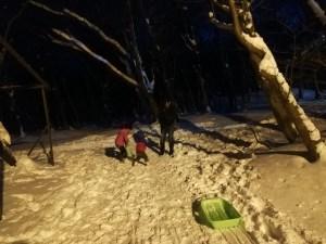 那須オオシマフォーラム 宿泊 雪遊び