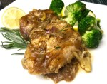 Lemon-Rosemary Chicken with Broccoli