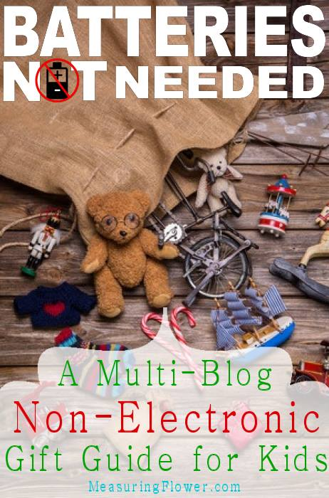 A Multi Blog Gift Guide to Non-Electric toys