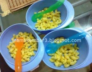 Nak makan macaroni?