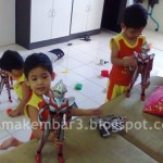 Toilet Training Si Kembar 3