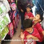 Shopping Baju Sekolah Si Kembar 3 di Hari-Hari!