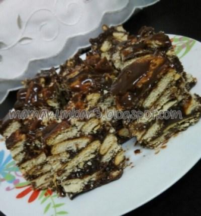 kek batik mudah