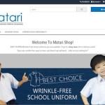 Uniform Sekolah Matari Yang Sangat Mudah Digosok!