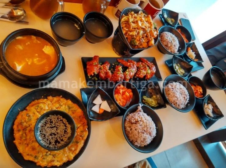 makanan Korea di DubuYo sedap