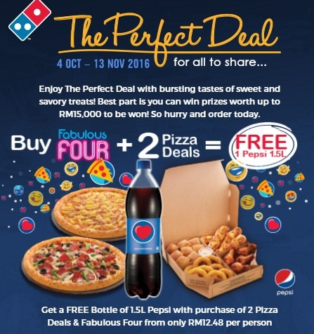 Dominos The Perfect Deal