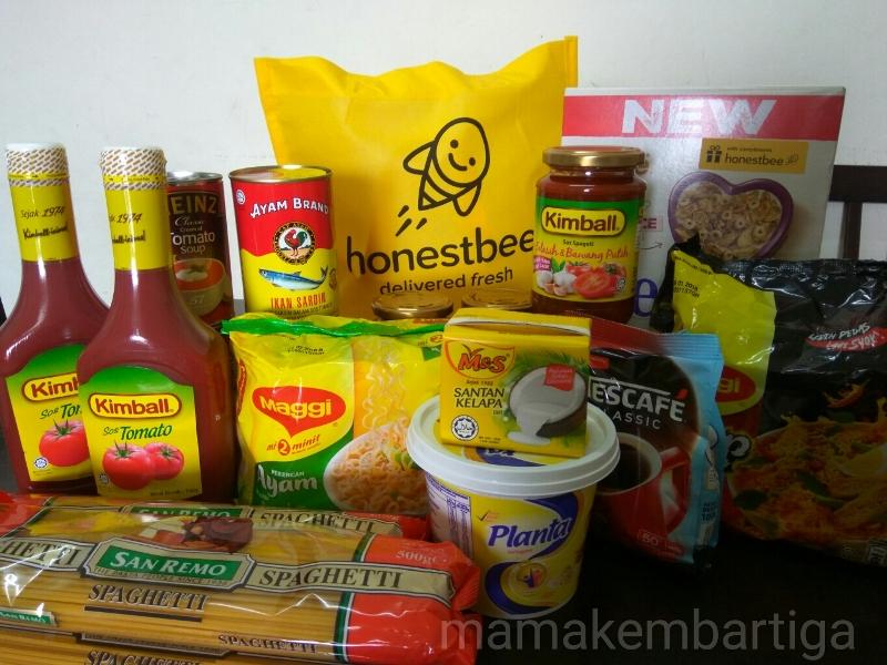 beli barang dapur online di HonestBee