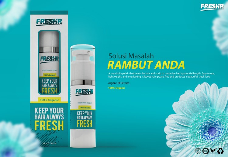 Serum Rambut Organik FreshR