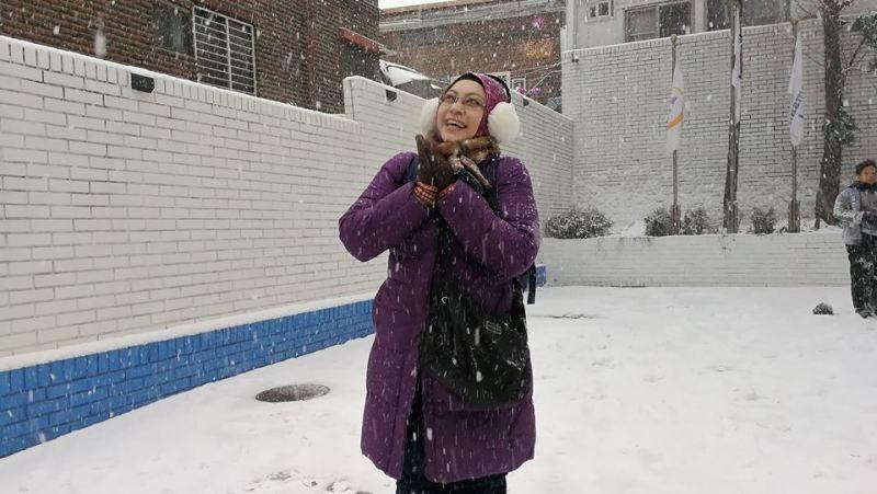 Korea winter trip