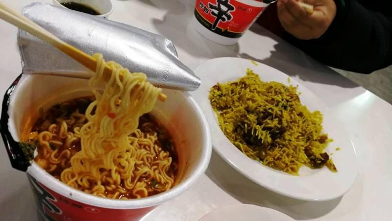 makanan halal di Myeongdong Korea