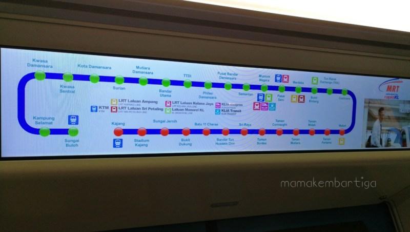 naik MRT ke MyTown Cheras