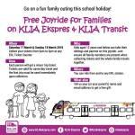 Jom Bawa Anak-Anak Naik Tren KLIA Transit dan KLIA Ekspres PERCUMA Hujung Minggu Ni Jom!