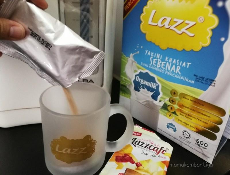 Lazzcafe dan Lazz Susu Kambing Coklat