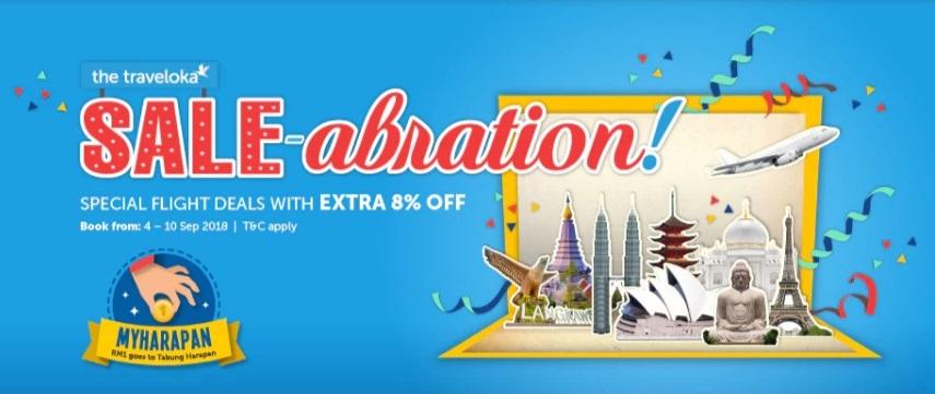Traveloka Sale-abration