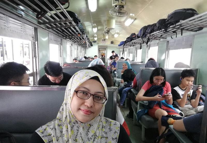 keretapi tren klasik ke Hat Yai