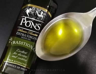 Minyak Zaitun extra virgin olive oil