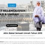 Beli Online Je Set Kelengkapan Haji & Umrah, Senang!