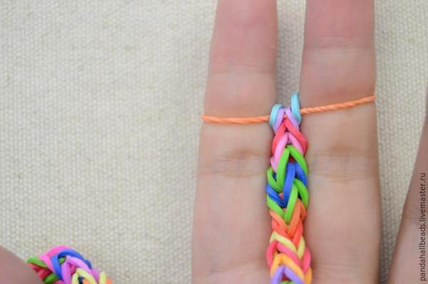 Схема браслет из резинок: схемы плетения по фото и видео ...