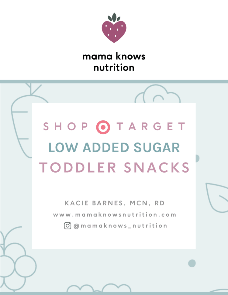 healthy toddler snack guide