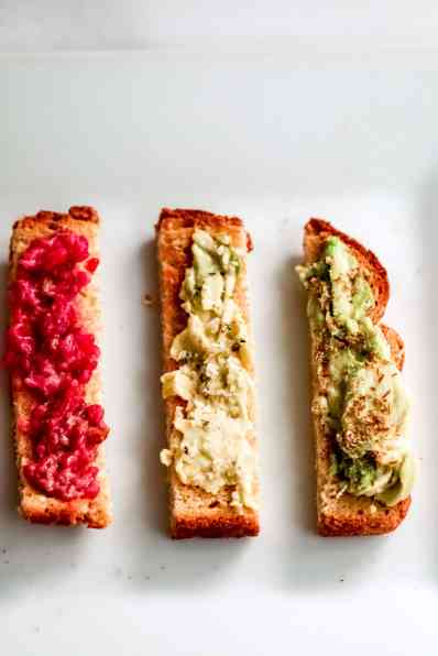 Healthy Toast Toppings