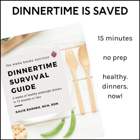 6 weeks of healthy dinners no prep