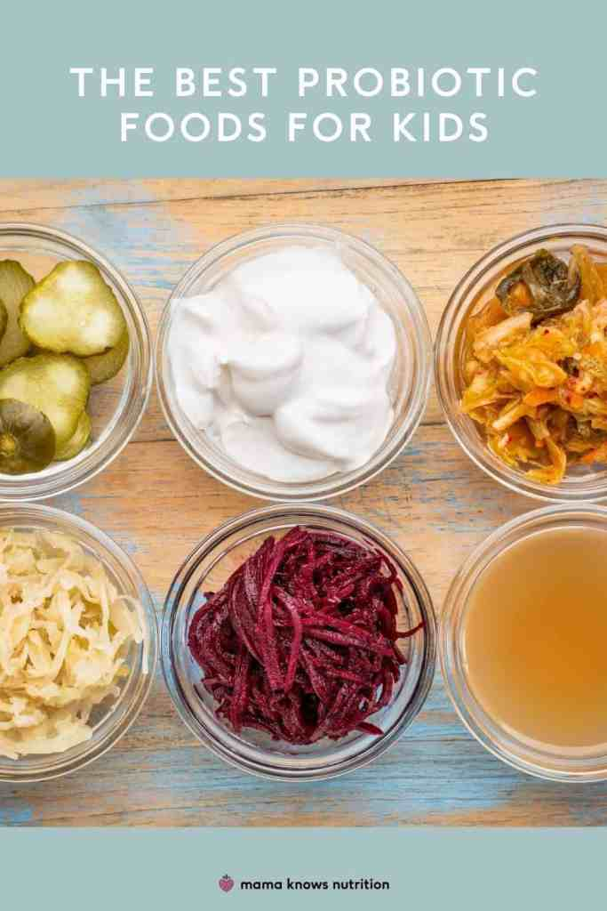 the best probiotic foods for kids