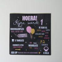 Kyra's B'day Preps - De uitnodiging!