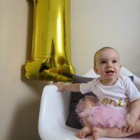 Kyra is 1 jaar oud!