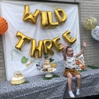 Kyra is 3 jaar!