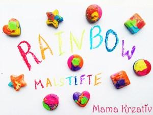Rainbow – Wachsmalstifte selber machen